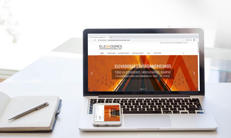 Sitio Web de Elevadores Centroamericanos