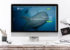 Sitio Web Faico, Amigos Isla del Coco